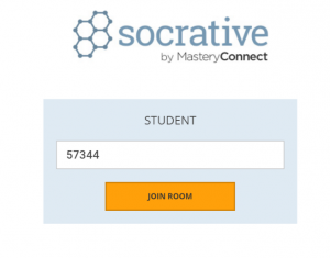 socrative login